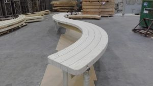bent glued timber