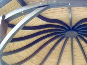 Łuki drewniane konstrukcyjne