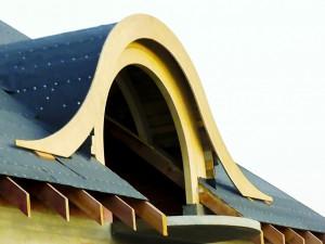 lukarna w dachu
